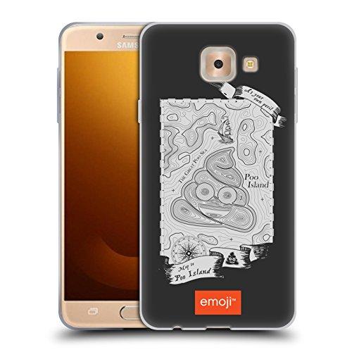 Head Case Designs Oficial Emoji Isla Poo 1 Carcasa de Gel de Silicona Compatible con Samsung Galaxy J7 MAX
