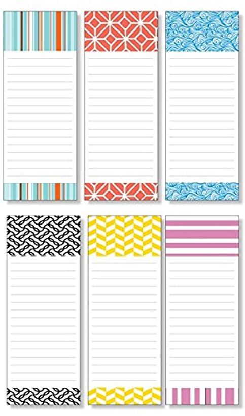 Memo NotePads Pack of 6 with 6 Different Fun Designs 3.5