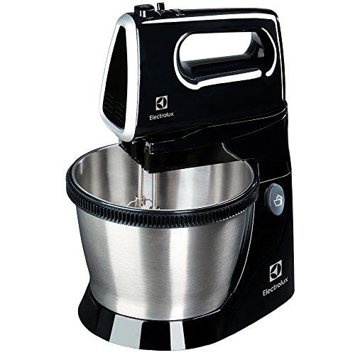 Electrolux Love Your Day Collection Batidora de repostería con bol de acero inoxidable de 3.5 litros de capacidad, 450 W, 85 Decibelios, Negro