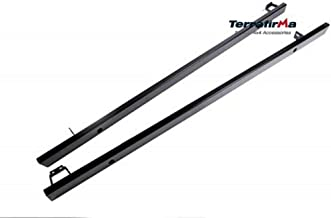 Proper Spec Terrafirma Rock Sliders Without Tree Bars fits Defender 130 No Jacking TF815 New