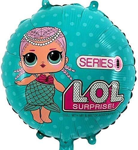 SauParty R60F1 XL Elio Palloncino LOL Bambini Regalo Cartone Animato Serie Compleanno Decorazione