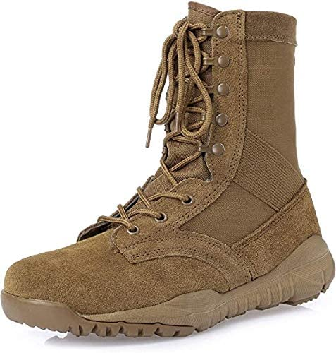 Thowi Mens Military Boots Gorgeous Selling Coyote Tactical Combat Brown Working