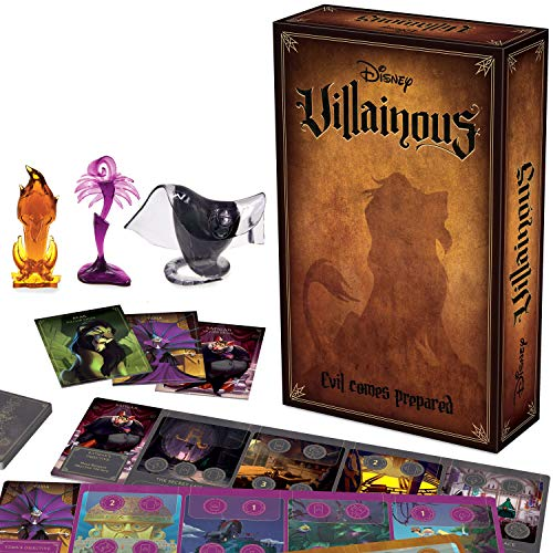 Ravensburger Disney Villainous: Evil Comes Prepared Strategy Board Game for Age 10 & Up - Stand-Alone & Expansion to The 2019 TOTY Game of The Year Award Winner - 2020 TOTY Game of The Year Finalist