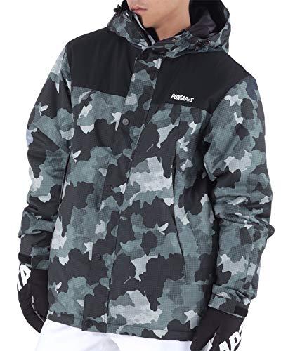 PONTAPES(ポンタぺス) スノーボード ウェア ジャケット メンズ レディース スキー ジャケット 全9色 XS-3XL...