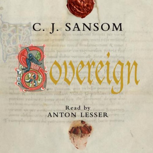 Sovereign audiobook cover art