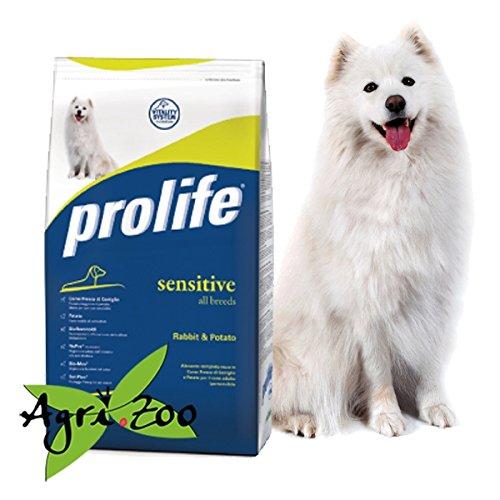 ProLife – Sensitive lapin et pommes de terre 12 Kilogramm