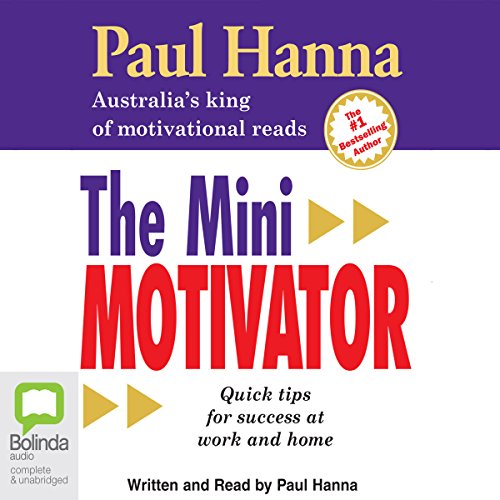The Mini Motivator audiobook cover art