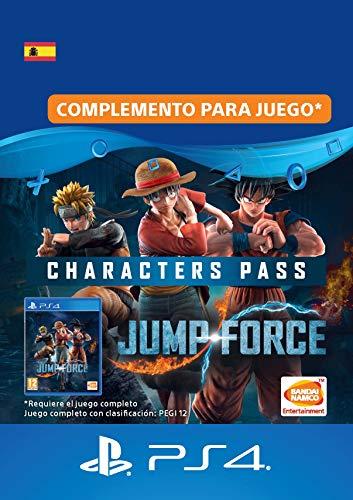 JUMP FORCE - Characters Pass   Código de descarga PS4 - Cuenta española