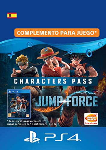JUMP FORCE - Characters Pass | Código de descarga PS4 - Cuenta española