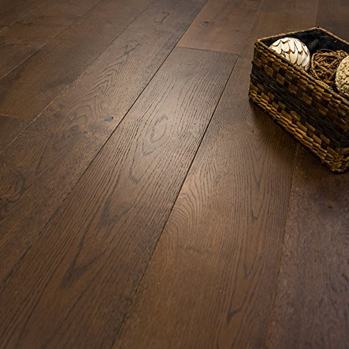 """Wide Plank 7 1/2"""" x 1/2"""" European French Oak (Noble Estate) Prefinished Engineered Wood Flooring Sample at Discount Prices by Hurst Hardwoods"""