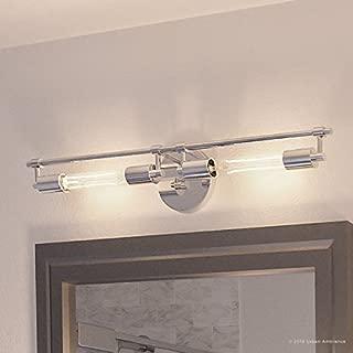 Luxury Industrial Chic Bathroom Vanity Light, Large Size: 5.125