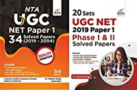 50 UGC NET Paper 1 Year-Wise Solved Papers (2019 - 2004) - Set of 2 Books - 2nd Edition