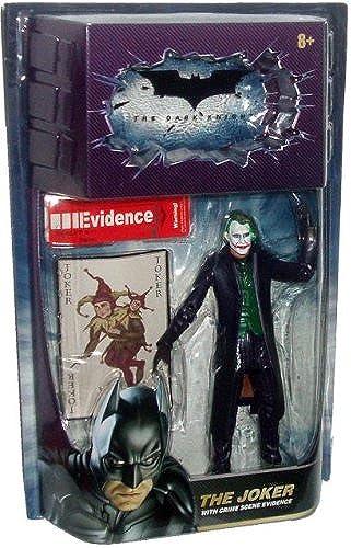 precios razonables Dark Knight Knight Knight Action Figures The Joker with Crime Scene Evidence by Mattel  tienda en linea