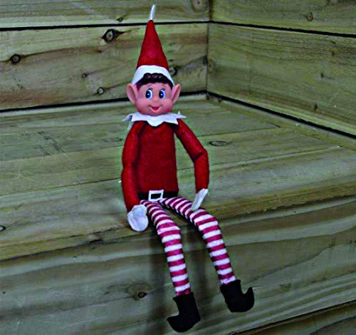 eBuyGB Elfi Behavin 'Mal – 30,5 cm Vinyl Faced Naughty Elf Doll