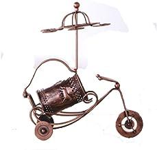 QXM Paard Bloem Chariot Wijnrek Creatieve Goblet Ondersteboven Wijnrek Europese Stijl Smeedijzeren Rack