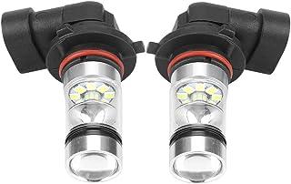 EBTOOLS 2Pcs 9006 / Phare HB4 LED, 100W Blanc LED Haute Ampoule de Phare Lumineux Kit Lampe de Conduite de Voiture Antibro...