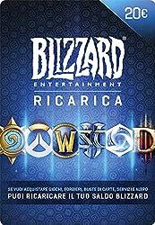 Se vuoi acquistare online giochi, oggetti e servizi Blizzard, puoi usare il tuo saldo Blizzard. Oppure puoi regalare questa ricarica a un amico perché si diverta con il suo gioco Blizzard preferito.