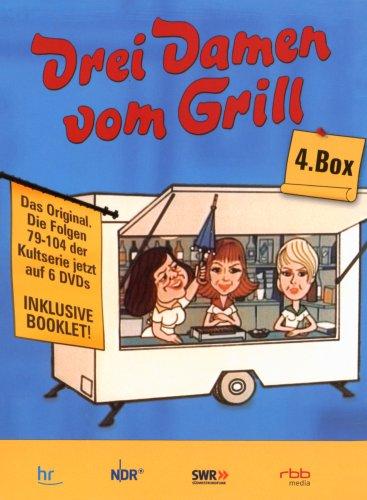 Drei Damen vom Grill - Box 4, Folge 79 - 104 (6 DVDs)