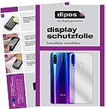 dipos I 2X Schutzfolie klar kompatibel mit Beafon M6 Rückseite Folie Bildschirmschutzfolie (bewusst Kleiner als das Glas, da Dieses gewölbt ist)