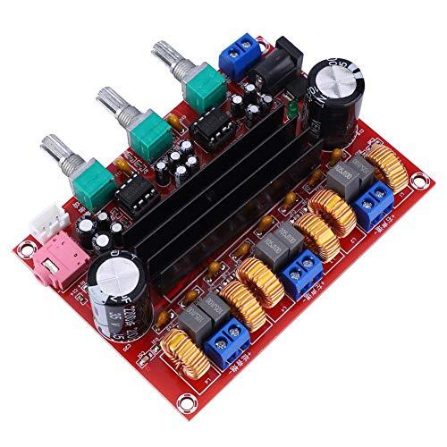 Tosuny TPA3116D2 2,1 kanaals 2x50 watt + 100 watt digitale subwoofer versterkerplaat audio stereo AMP moduleplaat luidspreker DIY Kit DC 12 V-24 V