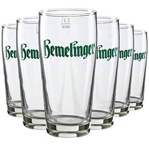 Rastal 6 HEMELINGER Willibecher 0,20 Liter Biergläser