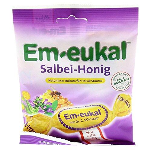 Em-eukal Salbei-Honig Bonbons, 75 g Bonbons