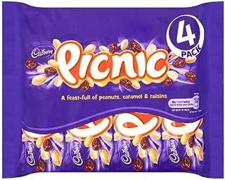 Original Cadbury Picnic 4 Bars Imported from the UK, England