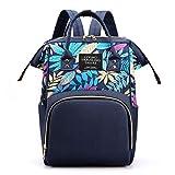 Mochila para bebé, JOSEKO mochila para pañales, mochila multifuncional para madre, bolsa impermeable de tela Oxford de gran capacidad, adecuada para viajes y excursiones.