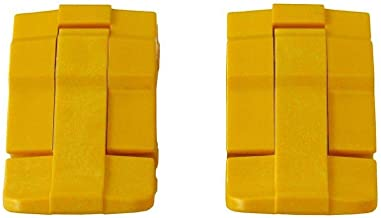 2 Yellow Replacement latches for Pelican Cases.