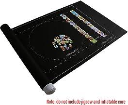 JMF Puzzle Roll Rompecabezas Alfombra de Fieltro de Almacenamiento con una Bolsa de Almacenamiento y una Bomba Manual sin Arrugas plegadas Jigroll de hasta 1,500 Piezas Materiales ecol/ógicos