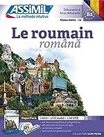 Le Roumain (Livre+ 4 CD audio + 1CD mp3) de Vincent Ilutiu