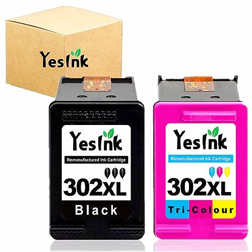 302XL Remplacement pour Cartouche HP 302 encre HP 302 HP 302 XL Cartouche HP 302 XL Noir et Couleur pour HP DeskJet 1110 2130 Envy 4520 Officejet 3830