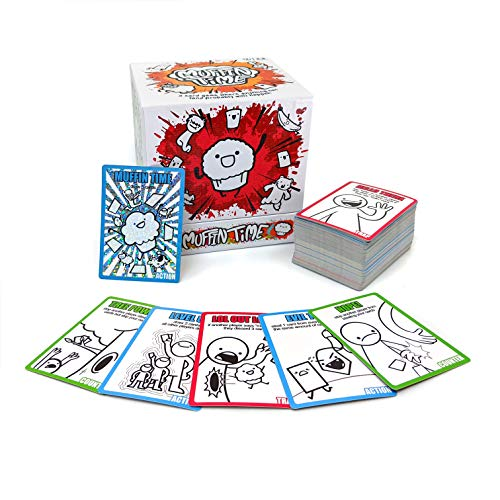 Muffin Time: Randomest Party Game You'll Ever Play   Hilarious Board Game for Teens and Adults