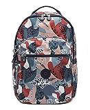 Kipling Women's Seoul Laptop Backpack, urban Jungle Red, One Size