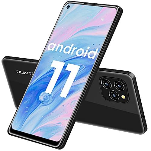 Smartphone Offerta del Giorno, OUKITEL C21 Pro Telefono Cellulare, 6,39   Schermo, 4GB RAM+64GB ROM, Android 11 Dual SIM Cellulari Offerte, 21MP+8MP Fotocamera, Batteria 4000 mAh, Telefono Economico