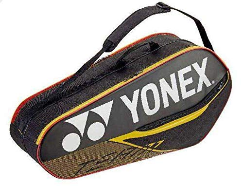 YONEX badmintontasche Team Bag 6R schwarz/gelb