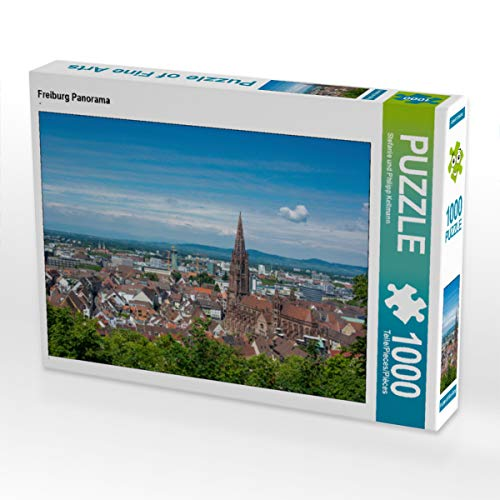 CALVENDO Puzzle Freiburg Panorama 1000 Teile Lege-Größe 64 x 48 cm Foto-Puzzle Bild von KellmannArt