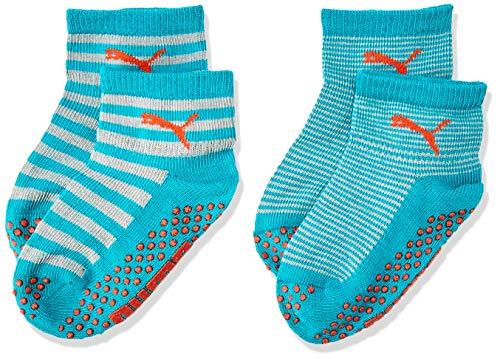 PUMA Kinder Baby Sock ABS 2P , Navigate/ Peacoat 633 , 15-18
