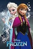 Frozen - Anna and ELSA Sisters - Poster Plakat - Größe