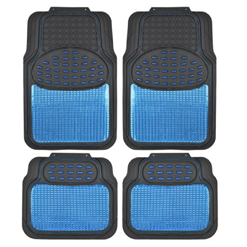 BDK Metallic Rubber Floor Mats