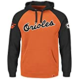 Majestic MLB Baseball Hoody/Hoodie/Kaputzenpullover Sweater Baltimore Orioles O's Cooperstown in MEDIUM (M) -