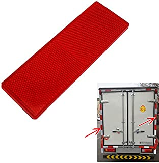 Sedeta Reflective Tape Warning Plate Stickers Decal Strip For Car Truck Safety Door Open Nighttime Signal 2PCS Red Warning Plate/Tape Stickers Decal Strip For Car Truck Safety Door Open Door
