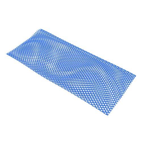 sharprepublic Protector de Malla para Tanque de Buceo 21x8 '' Tanques de Buceo Tejido de Cubierta de Manga de Hilo de Red - Azul