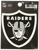NFL Oakland Raiders Die Cut Team Logo Short Sport Sticker
