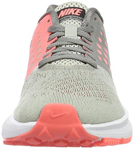 Nike Zoom Span W, Zapatillas de Running Mujer, Gris Dust Black Lava Glow Pale Grey, 37.5 EU