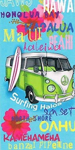 Toalla Playa 216 CARAVAN SUN&SURF 170X90 ESTAMPADA SINGLE