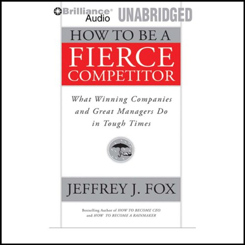 How to Be a Fierce Competitor audiobook cover art