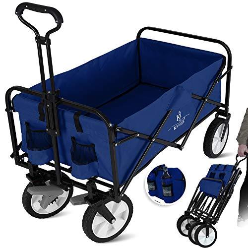 KESSER® Bollerwagen faltbar Handwagen Transportkarre Gerätewagen |...