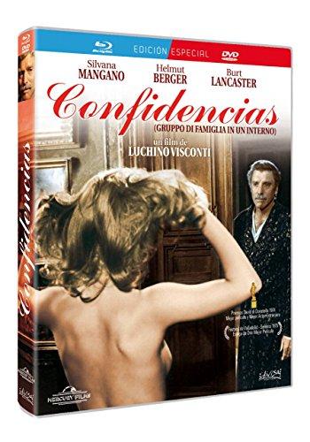Gruppo Di Famiglia In Un Interno (Blu-Ray + Dvd) Confidencias -- Spanish Release