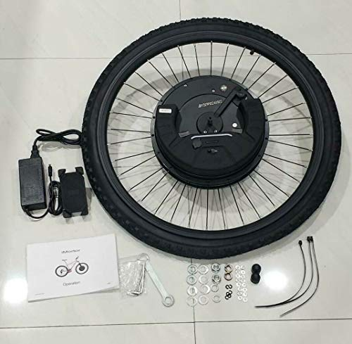 Why Should You Buy MZ PARTS MIAMI MOTORIZAD Bicycle 26 Inch Front WheelMotor 36V/350 W Battery 36V/7...